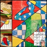 Patriotic Soldier Collaborative Poster:  Popular Veterans' Day Activity!