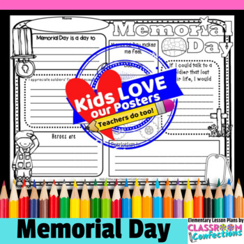 Memorial Day Writing: Activity Poster