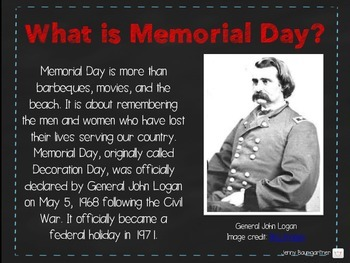 Memorial Day PowerPoint/PDF