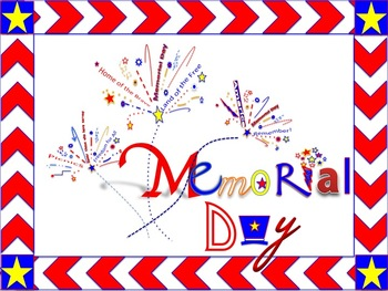 Memorial Day PowerPoint Template and Clip Art
