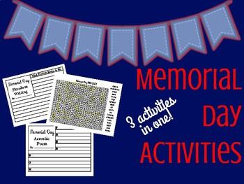 Memorial Day Printables
