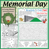 Memorial Day Puzzle Set
