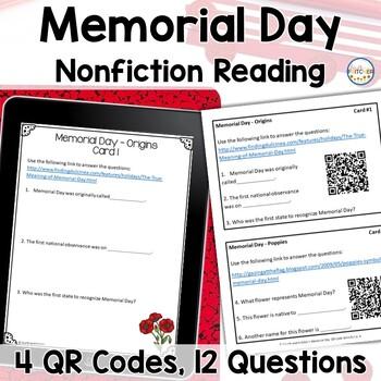 QR Code Quest: Memorial Day