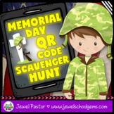Memorial Day Activities (Memorial Day QR Codes Scavenger Hunt)
