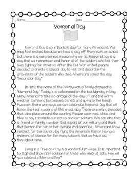 Memorial Day Reading