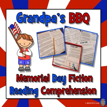 Memorial Day Reading Comprehension Passage and Questions + Fluency