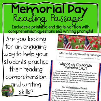 Memorial Day Reading Passage