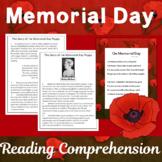 #teachersremember Memorial Day Reading Passage and Poem