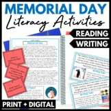 Memorial Day Reading and Writing Activities