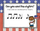 Memorial Day - Remembering Rhythms! Interactive Practice Syncopa
