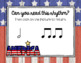 Memorial Day - Remembering Rhythms! Interactive Practice Ta-a