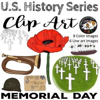 Memorial Day Remembrance Day World War 1 World War I Clip Art Set 5