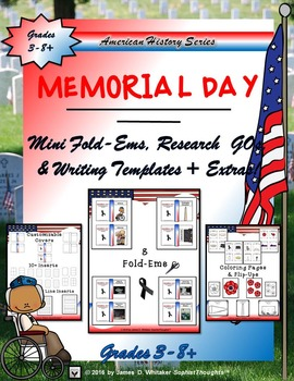 Memorial Day Research Fold-Ems