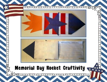 Memorial Day Rocket Craft