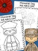 Memorial Day Roll, Add, & Color Activity Sheets