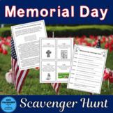 Memorial Day Scavenger Hunt
