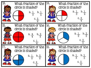 Scoot!  Math Activities for Memorial Day