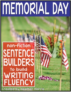 Memorial Day Sentence Builders