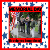 Memorial Day Sentence Stems, Crafts, and History