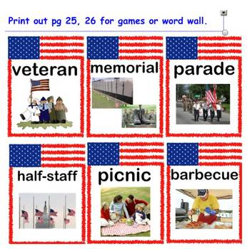 All about Memorial Day Smartboard