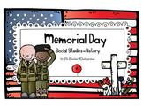 Memorial Day Social Studies - History Kindergarten and 1st Grade
