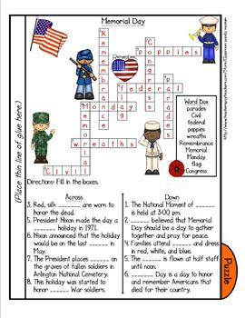 Memorial Day Tab Booklet