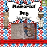 Memorial Day Tab Booklet Distance Learning