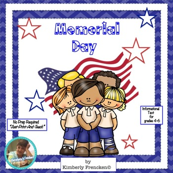 Memorial Day: Teach History with Informational Text passag