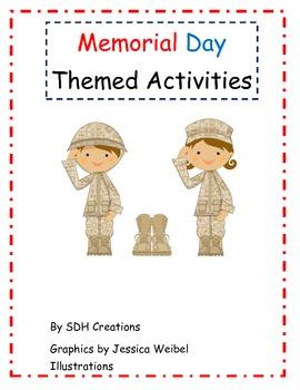 Memorial Day Themed Activities