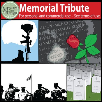 Memorial Day Tribute Set {Messare Clips & Design}