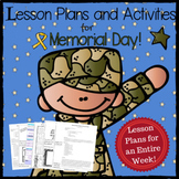 Military Appreciation + Memorial Day + Unit + Lesson Plans + Crafts + Activities