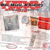 War, Music, & History : An Integrated Social Studies Unit
