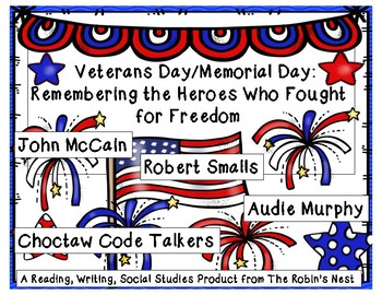 Veterans Day/Memorial Day:  United States Heroes