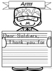 Memorial Day, Veteran's Day, Armed Forces Day Non-Fiction Writing Activity