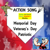Memorial Day, Veteran's Day, Patriotic Action Song: Armed Service Medley