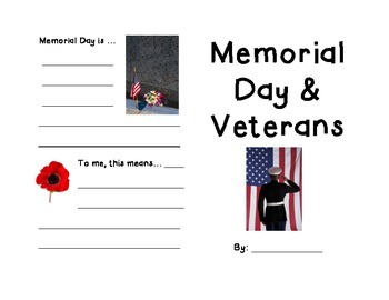 Memorial Day & Veterans