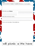 Memorial Day / Veterans Day Bundle Writing Prompts and Worksheets