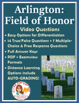Memorial Day Video Questions -- includes link to free online video