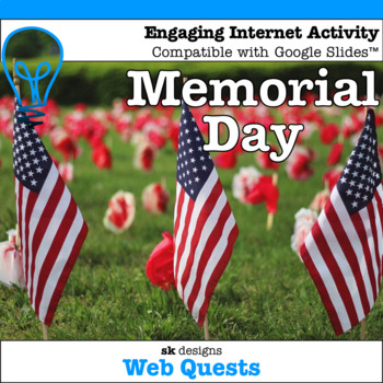 Memorial Day WebQuest - Engaging Internet Activity {Includes Google Slides}
