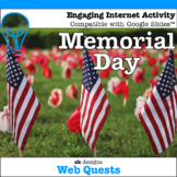 Memorial Day WebQuest - Engaging Internet Activity {Includes Google Slides}