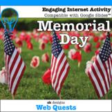 Memorial Day WebQuest - Engaging Internet Activity {Includ