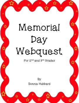 Memorial Day Webquest