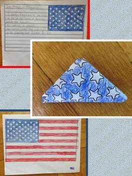 Memorial Day: Webquest, Flag Activity, Persuasive Writing Piece, Video