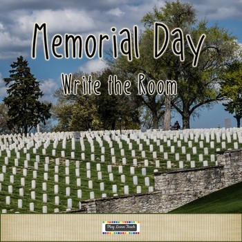 Patriotic Memorial Day Write the Room