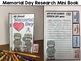 Memorial Day Writing Activity: Mini Book