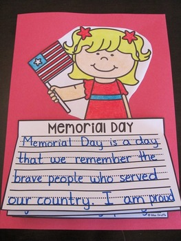 Memorial Day Activities (No Prep Writing Crafts)