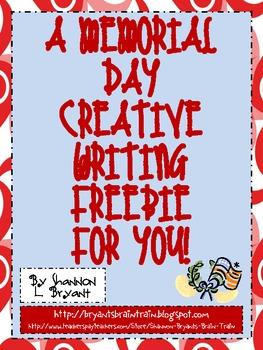 Memorial Day Writing FREEBIE!
