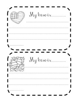 Memorial Day Writing Pages