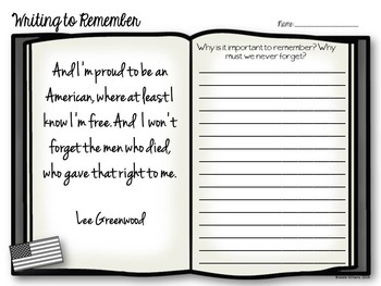 Memorial Day Writing Prompts