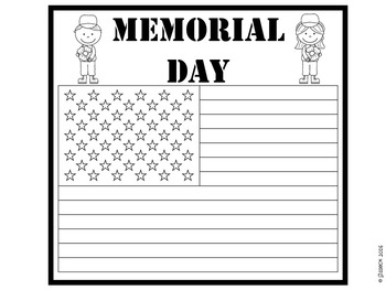 Memorial Day Writing and Craft
